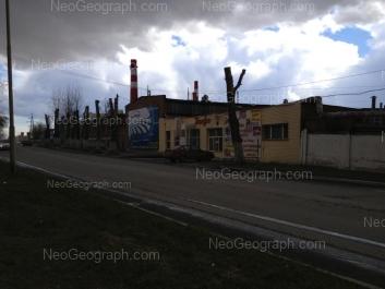 View to: Minometchikov street, 17. Yekaterinburg (Sverdlovskaya oblast)