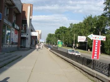 На фото видно: Большакова улица, 99А. Екатеринбург (Свердловская область)