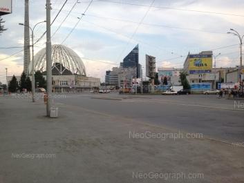 View to: 8 Marta street, 43 (Цирк); 8 Marta street, 49 (Бизнес-центр Арена); 8 Marta street, 51 (Бизнес-центр Саммит (Summit)); 8 Marta street, 62 (УрГЭУ). Yekaterinburg (Sverdlovskaya oblast)