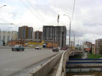 View to: Bazhova street, 68; Shevchenko street, 20; Shevchenko street, 33; Shevchenko street, 33; Shevchenko street, 33. Yekaterinburg (Sverdlovskaya oblast)
