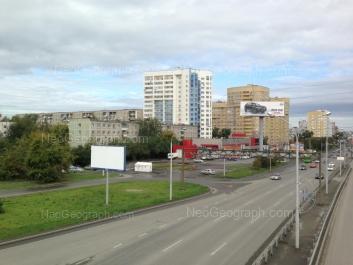 View to: Krauliya street, 44; Krauliya street, 51; Tokarey street, 54 к1. Yekaterinburg (Sverdlovskaya oblast)