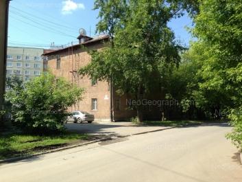 View to: Iulskaya street, 55; Uralskaya street, 27; Uralskaya street, 55. Yekaterinburg (Sverdlovskaya oblast)