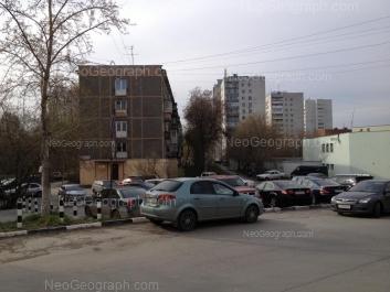 View to: Posadskaya street, 28/4; Posadskaya street, 28/5; Posadskaya street, 30/3. Yekaterinburg (Sverdlovskaya oblast)