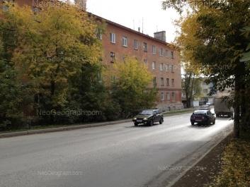 На фото видно: Армавирская улица, 22. Екатеринбург (Свердловская область)