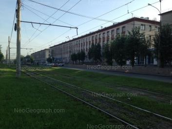 View to: Kosmonavtov avenue, 18. Yekaterinburg (Sverdlovskaya oblast)