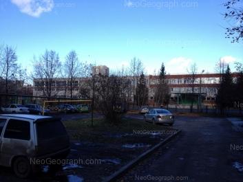 View to: Serafimi Deriyabinoy street, 27а (Школа №168). Yekaterinburg (Sverdlovskaya oblast)