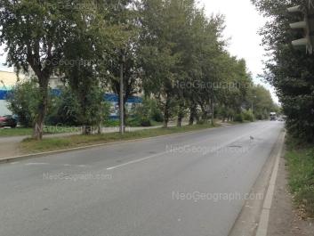 На фото видно: Военная улица, 10. Екатеринбург (Свердловская область)
