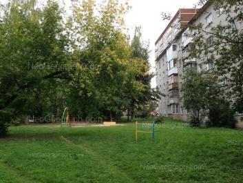 View to: Voennaya street, 4; Titova street, 8 к3. Yekaterinburg (Sverdlovskaya oblast)