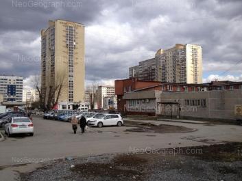 На фото видно: Бебеля улица, 134а; Опалихинская улица, 27; Опалихинская улица, 40; Опалихинская улица, 44; Черепанова улица, 8. Екатеринбург (Свердловская область)