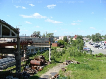 View to: Minometchikov street, 31; Stroiteley street, 53. Yekaterinburg (Sverdlovskaya oblast)