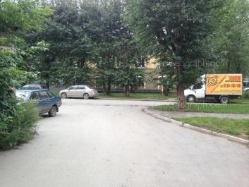 На фото видно: Лобкова улица, 24. Екатеринбург (Свердловская область)