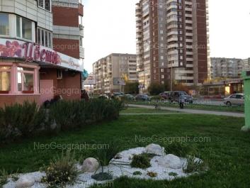 View to: Samotsvetniy boulevard, 6; Akademika Shvartsa street, 2 к3. Yekaterinburg (Sverdlovskaya oblast)