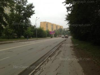 View to: Shefskaya street, 89 к1. Yekaterinburg (Sverdlovskaya oblast)