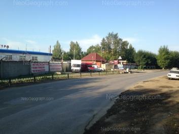 На фото видно: Турбинная улица, 4. Екатеринбург (Свердловская область)