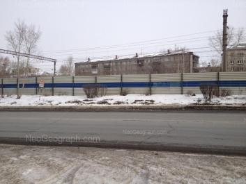 View to: Solnechnaya street, 41; Solnechnaya street, 43. Yekaterinburg (Sverdlovskaya oblast)