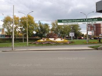 View to: Lunacharskogo street, 15. Yekaterinburg (Sverdlovskaya oblast)