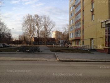 View to: Nekrasova street, 2; Strelochnikov street, 9А. Yekaterinburg (Sverdlovskaya oblast)