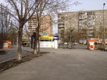 View to: Belorechenskaya street, 8; Belorechenskaya street, 10. Yekaterinburg (Sverdlovskaya oblast)