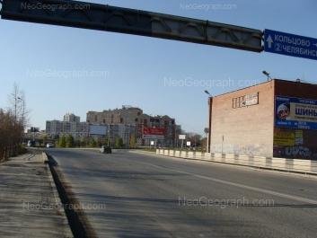 На фото видно: Онежская улица, 8а; Онежская улица, 10; Онежская улица, 12. Екатеринбург (Свердловская область)