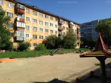 View to: Bulvar Kulturi boulevard, 25; XXII partsiezda street, 16А. Yekaterinburg (Sverdlovskaya oblast)