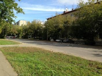 На фото видно: Агрономическая улица, 19; Военная улица, 7А; Военная улица, 10. Екатеринбург (Свердловская область)