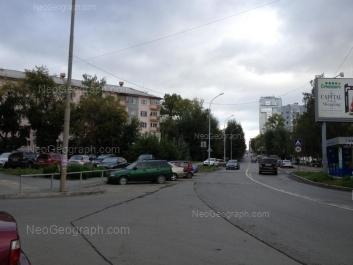 View to: Moskovskaya street, 66 (Московский, жилой комплекс); Palmiro Toliatti street, 24. Yekaterinburg (Sverdlovskaya oblast)
