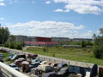 View to: Marata street, 17. Yekaterinburg (Sverdlovskaya oblast)