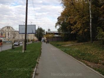 На фото видно: Верхисетский бульвар, 20; Кирова улица, 1; Кирова улица, 3. Екатеринбург (Свердловская область)