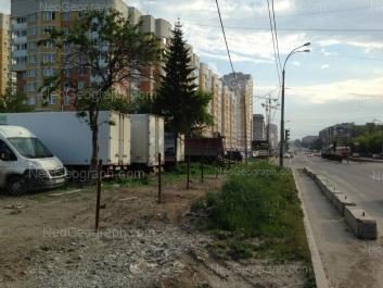 View to: Bakinskikh Komissarov street, 95. Yekaterinburg (Sverdlovskaya oblast)
