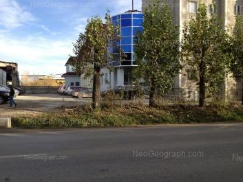 View to: Ispitateley street, 22; Ispitateley street, 22а. Yekaterinburg (Sverdlovskaya oblast)