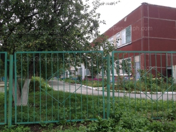 View to: Parnikovaya street, 20 (Детский сад №317, комбинированного вида). Yekaterinburg (Sverdlovskaya oblast)