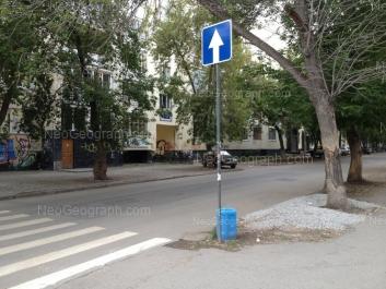 View to: Mamina-Sibiriaka street, 102; Mamina-Sibiriaka street, 104. Yekaterinburg (Sverdlovskaya oblast)