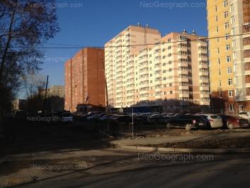 View to: Borovaya street, 29; Borovaya street, 31; Vilonova street, 24. Yekaterinburg (Sverdlovskaya oblast)