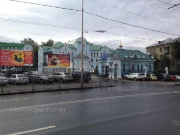 View to: Repina street, 6Д; Repina street, 6А. Yekaterinburg (Sverdlovskaya oblast)