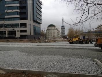View to: 8 Marta street, 45а; 8 Marta street, 51 (Бизнес-центр Саммит (Summit)); Stepana Razina street, 6. Yekaterinburg (Sverdlovskaya oblast)