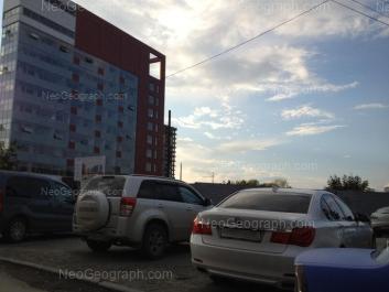 View to: Schorsa street, 18 (Следственное управление Следственного комитета РФ по Свердловской области). Yekaterinburg (Sverdlovskaya oblast)