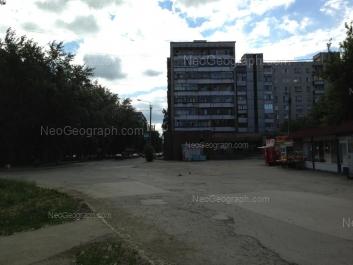 View to: Industrii street, 24; Industrii street, 26А (Почтовое отделение №143, почт. инд. 620143); Industrii street, 26. Yekaterinburg (Sverdlovskaya oblast)