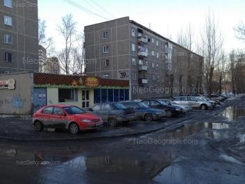View to: Iulskaya street, 39 к1. Yekaterinburg (Sverdlovskaya oblast)