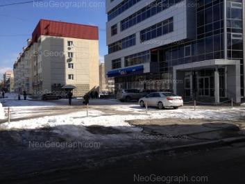 На фото видно: Белореченская улица, 13/1; Белореченская улица, 15. Екатеринбург (Свердловская область)