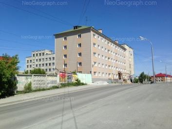 View to: Bebeliya street, 71 (Областной медицинский колледж); Marata street, 17; Marata street, 17а. Yekaterinburg (Sverdlovskaya oblast)