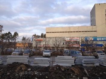 View to: Nachdiva Vasilieva street, 1/3; Cherdinskaya street, 24. Yekaterinburg (Sverdlovskaya oblast)