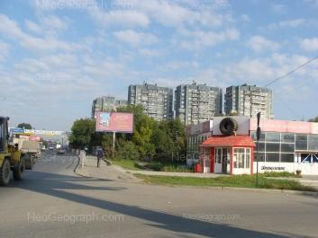 На фото видно: Бебеля улица, 108; Бебеля улица, 110; Бебеля улица, 112; Бебеля улица, 114; Полежаевой улица, 23. Екатеринбург (Свердловская область)