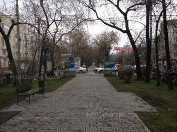 View to: Lenina avenue, 54/3; Lenina avenue, 75; Bazhova street, 91. Yekaterinburg (Sverdlovskaya oblast)