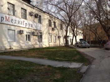 На фото видно: Красный переулок, 7; Ерёмина улица, 6. Екатеринбург (Свердловская область)