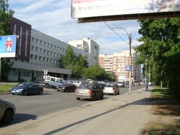 На фото видно: Большакова улица, 105; Большакова улица, 107; Большакова улица, 109; Сурикова улица, 2. Екатеринбург (Свердловская область)