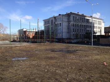 View to: Yumasheva street, 20. Yekaterinburg (Sverdlovskaya oblast)