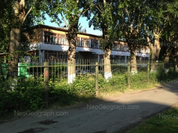 На фото видно: Избирателей улица, 3 (Детский сад №411, компенсирующего вида). Екатеринбург (Свердловская область)