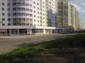 View to: Surikova street, 53; Schorsa street, 105. Yekaterinburg (Sverdlovskaya oblast)