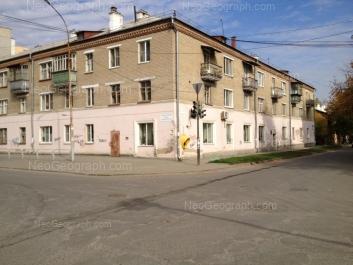 View to: Tsiolkovskogo street, 76А. Yekaterinburg (Sverdlovskaya oblast)
