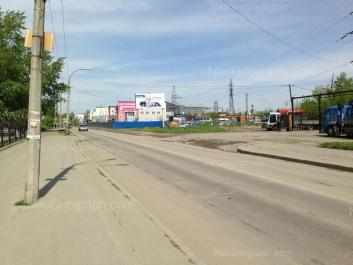 View to: Avtomagistralnaya street, 4. Yekaterinburg (Sverdlovskaya oblast)